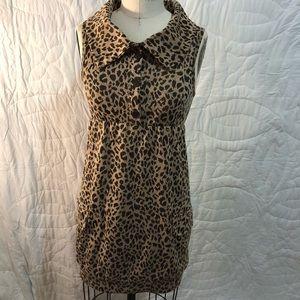 Lovely Day Leopard Print Dress